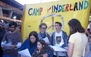 UnCor and Camp Kinderland at Occupy Wallstreet