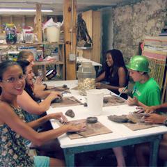 Camp Kinderland Arts and Crafts