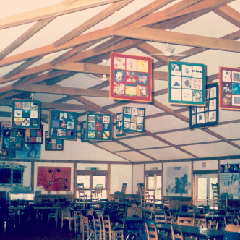 Camp Kinderland Dining Hall
